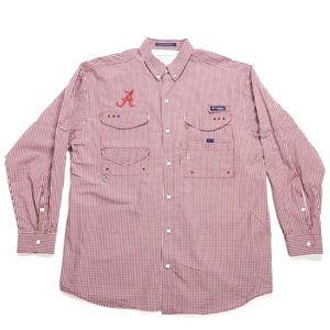 Columbia PFG Long Sleeve Shirt Men Large Alabama